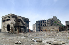 Gunkanjima Royalty Free Stock Images