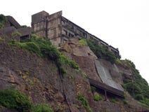 Gunkanjima pancernika wyspa w Nagasaki Japonia Fotografia Stock