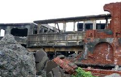 Gunkanjima pancernika wyspa w Nagasaki Japonia Zdjęcia Stock