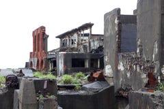 Gunkanjima pancernika wyspa w Nagasaki Japonia Obrazy Royalty Free