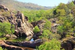 Gunlom at Kakadu National Park, Northern Territory, Australia Royalty Free Stock Photo