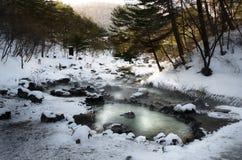 Gunma Hot Springs Royaltyfri Fotografi