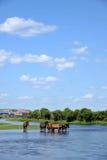 Gunma Yimin River water Stock Photos