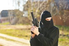 Gunman Stock Image