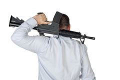 Gunman Stock Photography