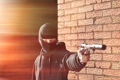 Gunman Royalty Free Stock Photography