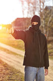 Gunman Royalty Free Stock Photos