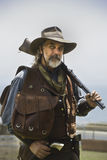 Gunman of the wild West Stock Photography