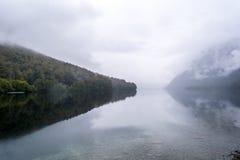 gunn nad jezioro Obrazy Stock