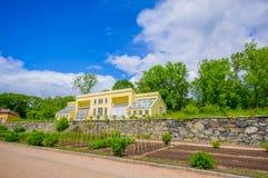 Gunnebo-Haus in Gothemburg, Schweden Lizenzfreies Stockfoto