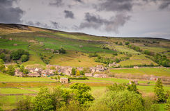 Gunnerside Village in Swaledale Royalty Free Stock Image