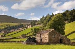 Gunnerside, Yorkshire zdjęcie royalty free