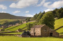 Gunnerside, Yorkshire royalty free stock photo