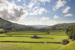 Gunnerside, Yorkshire Stock Photography