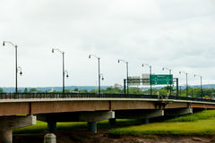 Gunningsville桥梁-蒙克顿-加拿大 免版税库存照片