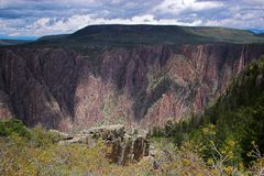 Gunnison national park gorge Stock Images