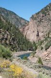 Gunnison River in Black Canyon Royalty Free Stock Photos