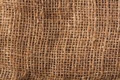 Gunny Bag. Brown color gunny bag background pattern Stock Images