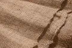 Gunny sack detail for background stock photos