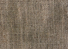 Gunny sack texture Stock Photos