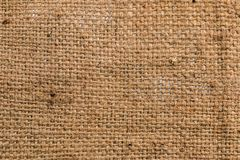 Gunny or Sackcloth texture Royalty Free Stock Photography