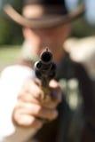 gunpoint κρατημένος Στοκ φωτογραφία με δικαίωμα ελεύθερης χρήσης