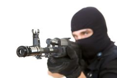 Gunpoint Stock Image