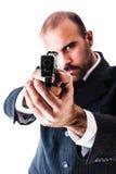 At gunpoint Stock Photography