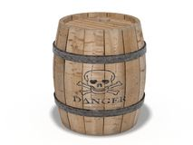 Gunpowder barrel Royalty Free Stock Image