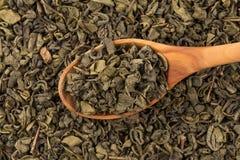 Gunpowder green tea Royalty Free Stock Photos