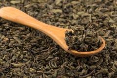 Gunpowder green tea Royalty Free Stock Image