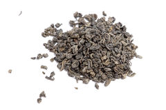 Gunpowder green tea Royalty Free Stock Images