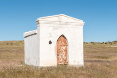 The gunpowder magazine in Philippolis Stock Image
