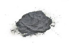 Gunpowder. Pile on white background isolated stock photography