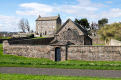 Gunpowder store at Berwick upon Tweed Royalty Free Stock Photos