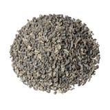 Gunpowder tea isolated on white. High resolution photo royalty free stock image