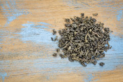 Gunpowder green tea Stock Image