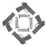 Guns Royalty Free Stock Photos