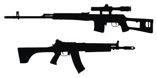 Guns Royalty Free Stock Photography