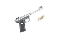 Guns and Ammo. Stock Image