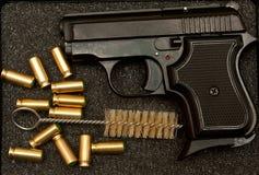 Guns And Bullets Royalty Free Stock Photo