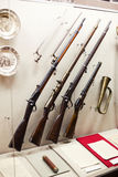 Guns on display Royalty Free Stock Images
