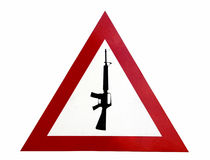 Guns forbidden Stock Images