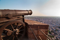 The Guns of Mehrangarh Stock Photo