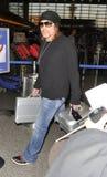 Guns n Roses frontman Axl Rose at LAX Royalty Free Stock Image