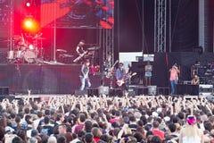 Guns N' Roses at Tuborg Green Fest Royalty Free Stock Image