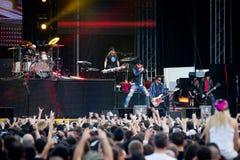 Guns N' Roses at Tuborg Green Fest Stock Photo