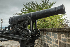 Guns on the Ramparts Royalty Free Stock Images