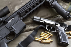 Guns Royalty Free Stock Images