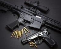 Guns Stock Photography